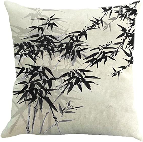 """Solid Pillowcase Bed Back Cushion Cover Concise Style Pollow Case 17.72x17.72/"""""""
