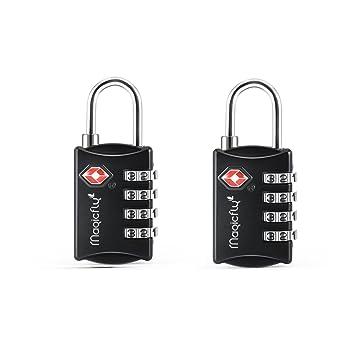 Magicfly - Cadenas à codes Cadenas à bagage TSA Cadenas à combinaison à 3  chiffres 9a0700416c8