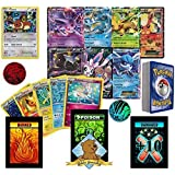 50 Random Pokemon Card Pack Lot, Featuring Eevee, 1 Ultra Rare Eeveelution, 3 Random Eeveelutions, Foils, Rares, and Coin. No Duplication. Includes Custom Golden Groundhog 60ct Box