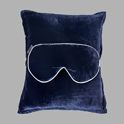 c5eab2147 Image Unavailable. Image not available for. Color  LilySilk Velvet Sleeping  Travel Set 1x Pillow ...