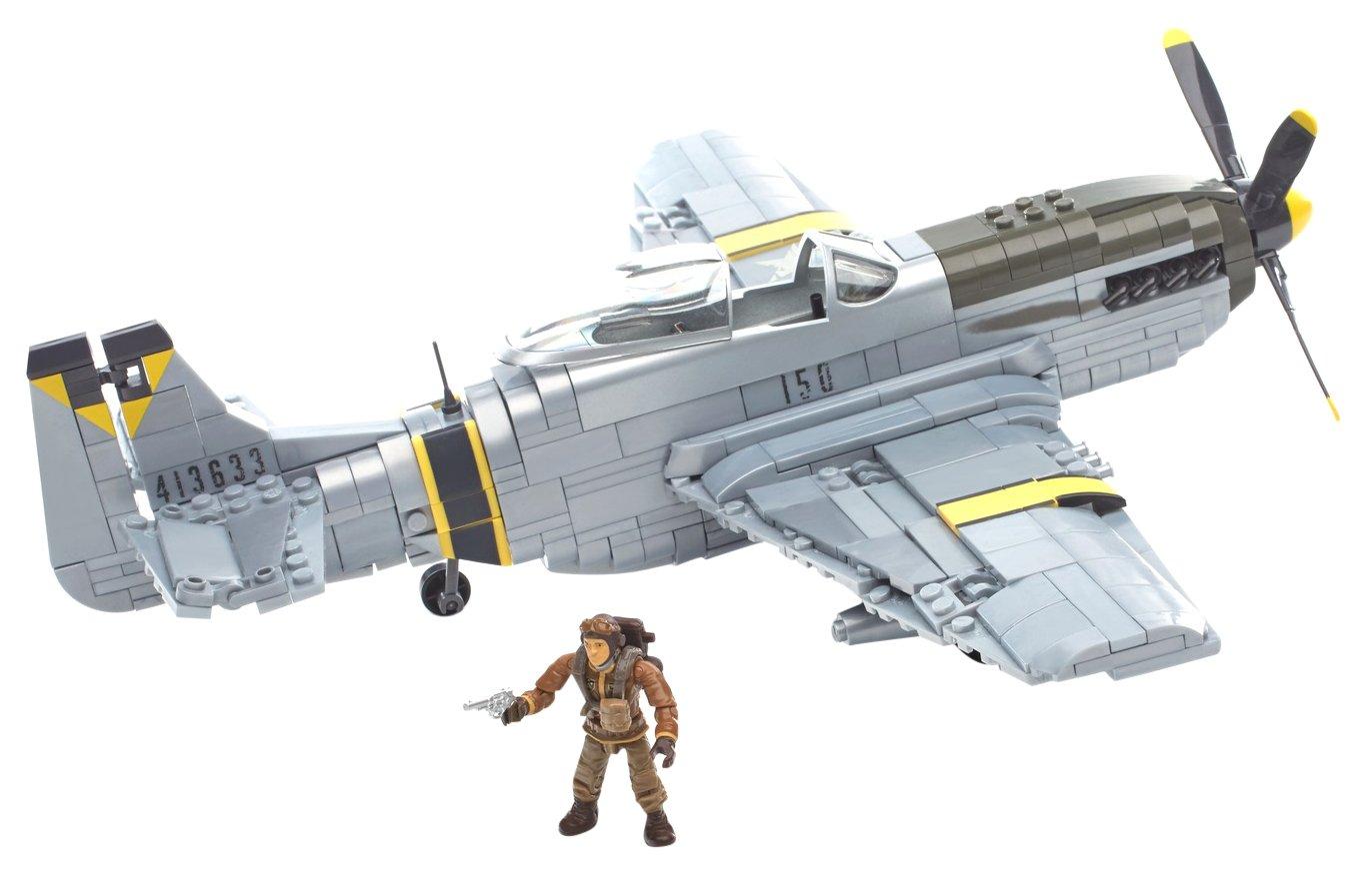 Mega Bloks Call of Duty Legends Air Strike Ace Building Set Mattel DPW87