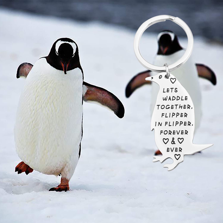Amazon.com: Lywjyb - Llavero de pingüino con forma de ...
