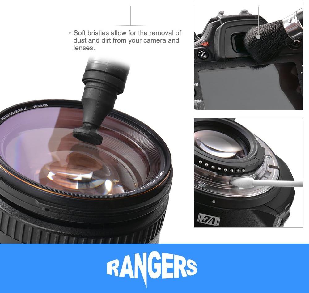 Rangers Kit de limpieza Profesional para cámaras DSLR y ...