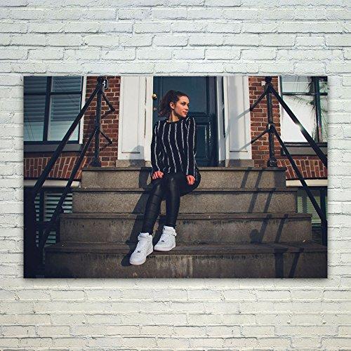 Westlake Art Looking Away - 24x36 Poster Print Wall Art - Mo