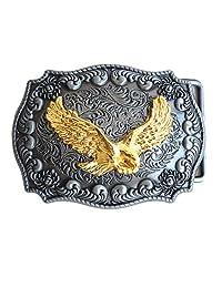 PANCY Golden Eagle Western Belt Buckle