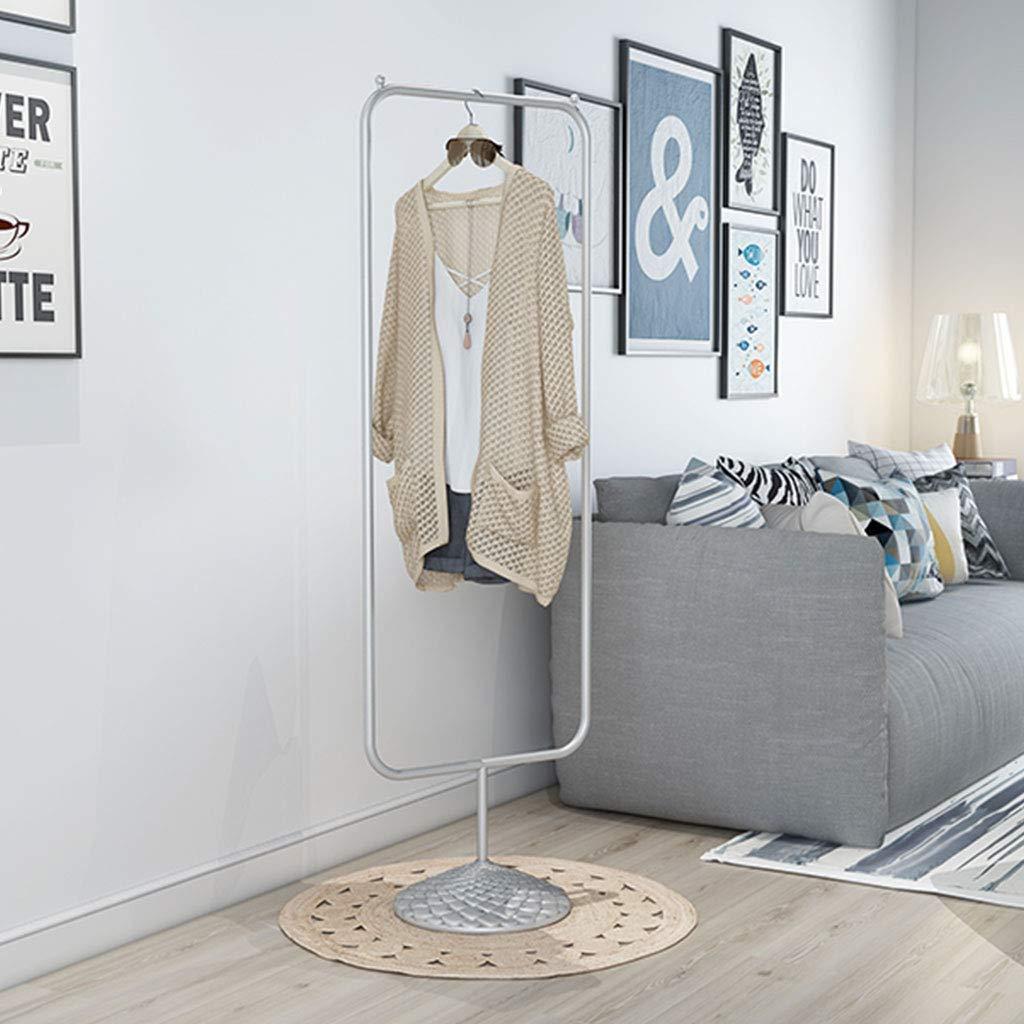 Farbe : Gold XJRHB Display Stand Display Stand Boden Kleiderb/ügel schwarz Kleiderst/änder Gold Silber Kleiderb/ügel