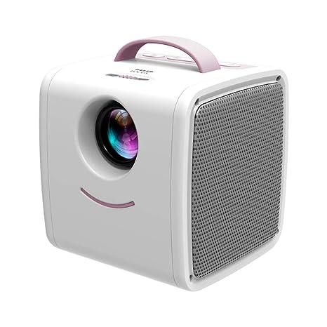 30 lúmenes Mini proyector, LED Proyector portátil Proyector de ...