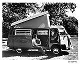 1976 Volkswagen Bus Westfalia Camper Photo Poster