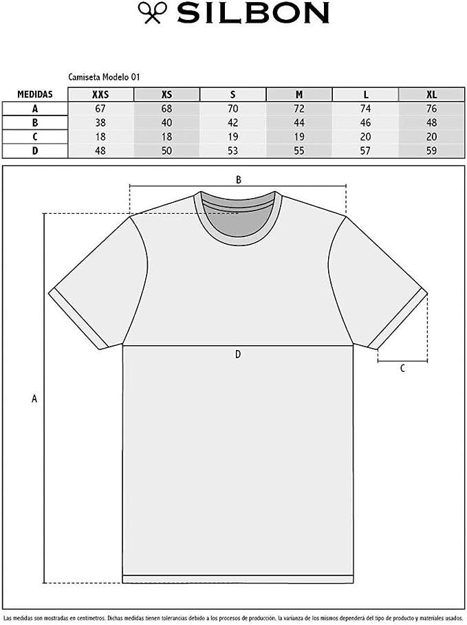 SILBON - Camiseta Raqueta Camuflaje Gris para Hombre: Amazon ...