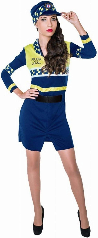 Disfraz de Policía Local para mujer: Amazon.es: Juguetes y juegos