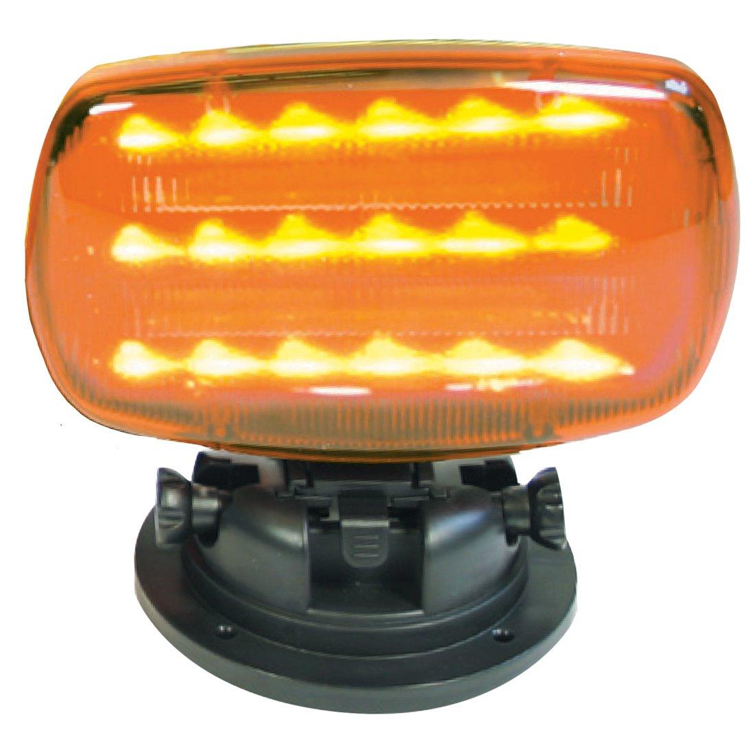 Mag. LED Flasher Amber (H.D. tilt base) Custer Products