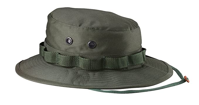 Amazon.com  Rothco Ultra Force Olive Green Military Inspired Boonie ... 678c1f91470