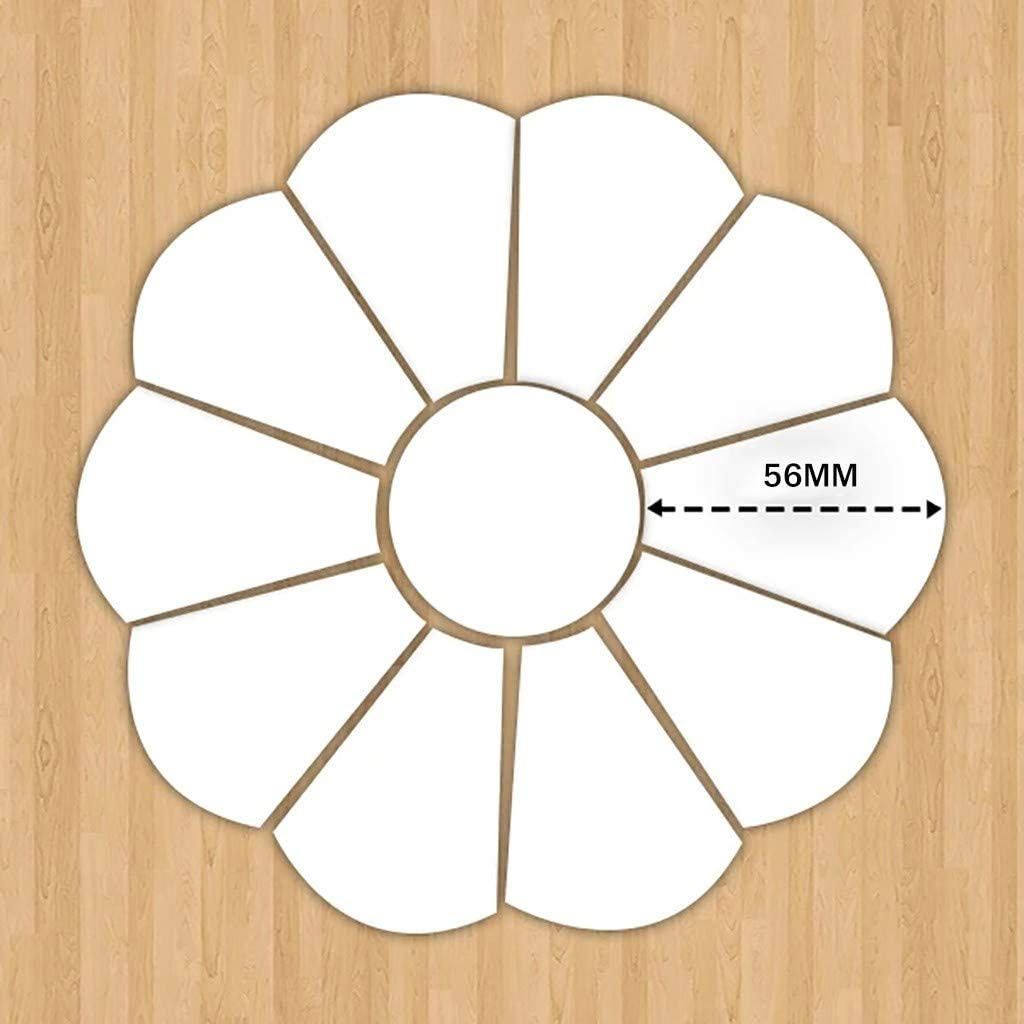 Patchwork Template Dresden Plate Pstarts 40 Pcs Handmade Daisy Quilt Template Quilter Styling Tool for Cloth Leather Craft Quilting Sewing