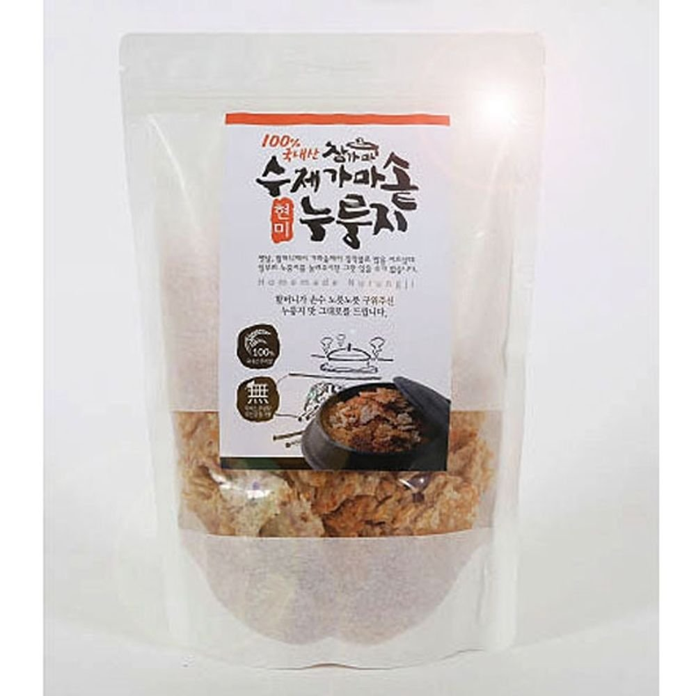 Handmade brown rice Scorched snack 200g x 5 Korean