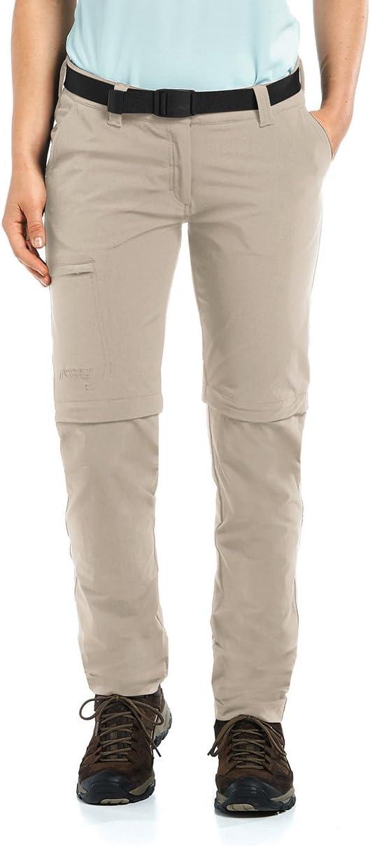 Maier Sports Pantalon dext/érieur pour Femme Zipp-Off Inara Slim