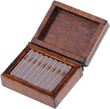 Amazon.es: Baoblaze Escala 1:12 Miniaturas Modelo de Caja de Cigarro Accesorio Decortivo de Dollhouse: Juguetes y juegos