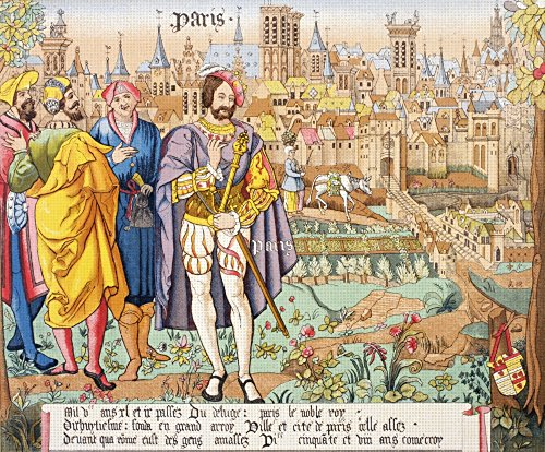 Posterazzi 15Th Century. After A Beauvais Tapestry. from Les Artes Au Moyen Age Published Paris 1873. Poster Print (32 x ()