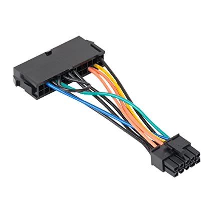 ATX Power Cable, VANDESAIL 24 Pin to 10 Pin ATX Main Power Supply Adapter  Cable for DELL 780 980 760 960 Workstation 4inch(10cm)