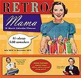 Retro Mama 2019 18-Month Wall Calendar Planner