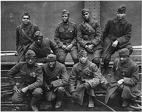 AFRICAN AMERICAN SOLDIERS WORLD WAR I GLOSSY POSTER PICTURE PHOTO one 1 (American War Original Photo)
