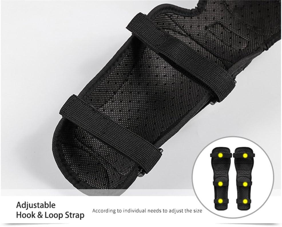 WOSAWE Protektoren Sets Kniesch/ützer Ellbogensch/ützer Motorrad Handgelenkschutz Sport Roller Ski Protector Kit f/ür Skateboard Fahrrad Roller