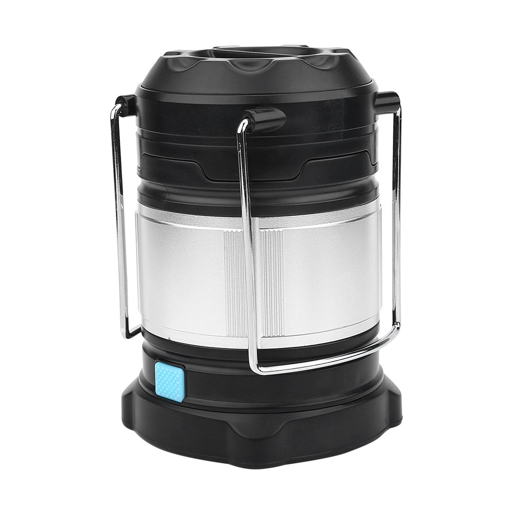 eecoo Camping Lantern, Water Resistant 4 Brightness Modes LED Light, Outdoor Emergency Camp Lamp with USB Port & Hook, Perfect Lantern for Hiking, Camping, Emergencies, Hurricanes, Outages