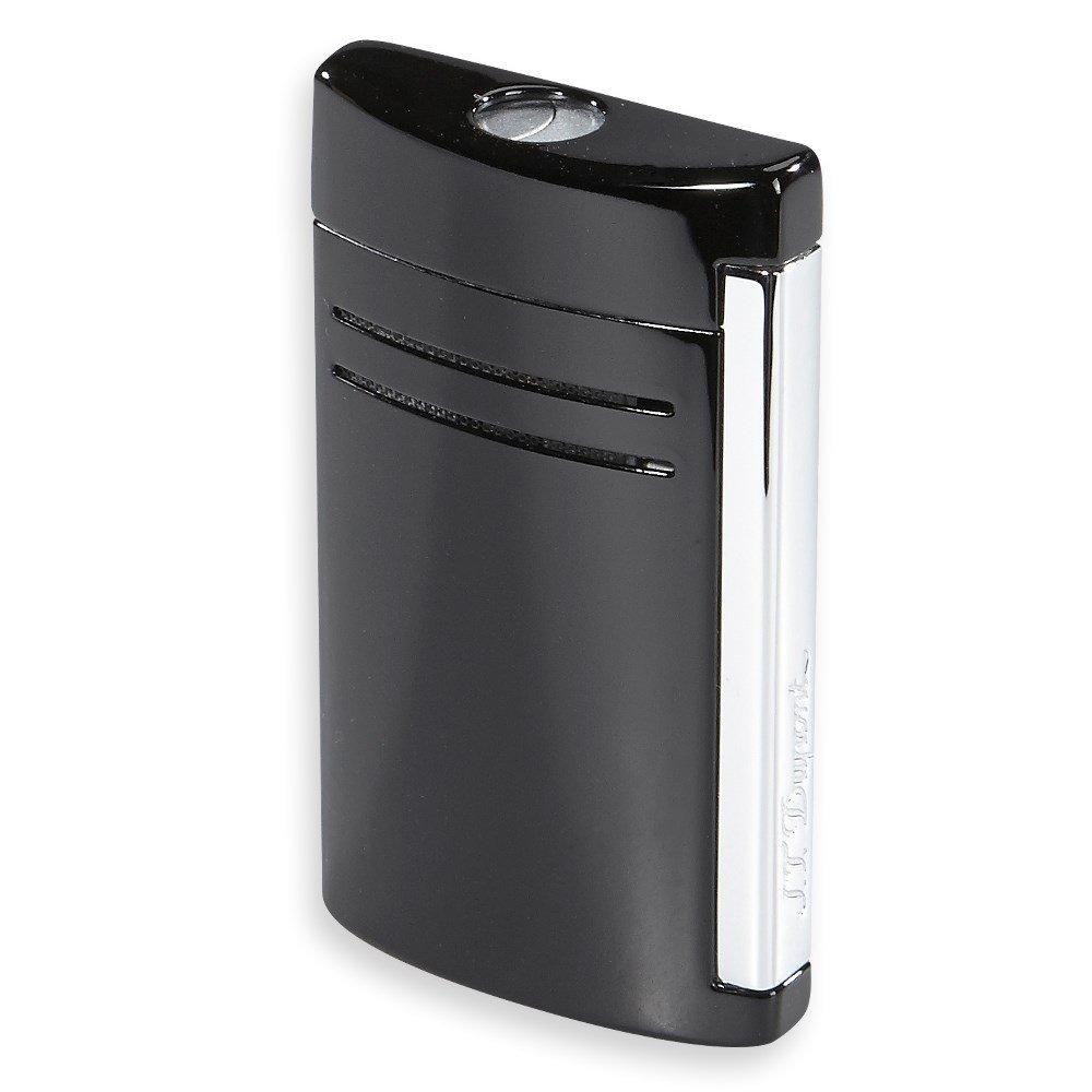 S.T. Dupont Maxijet Single Torch Cigar Lighter - Black Gloss