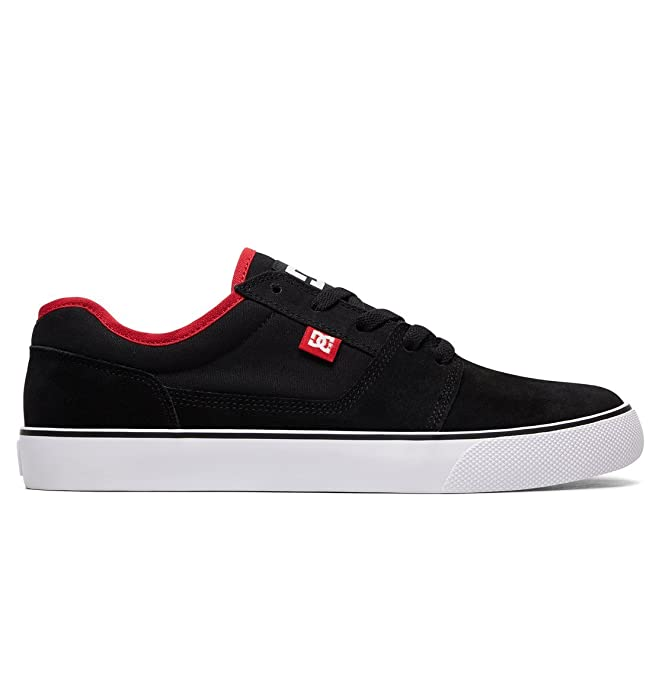 DC Shoes Tonik Sneakers Skateboardschuhe Herren Damen Unisex Erwachsene Schwarz/Rot (Black/Athletic Red)