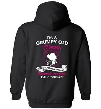 Hoodie Grumpy Amazon Woman I'm Clothing com Old