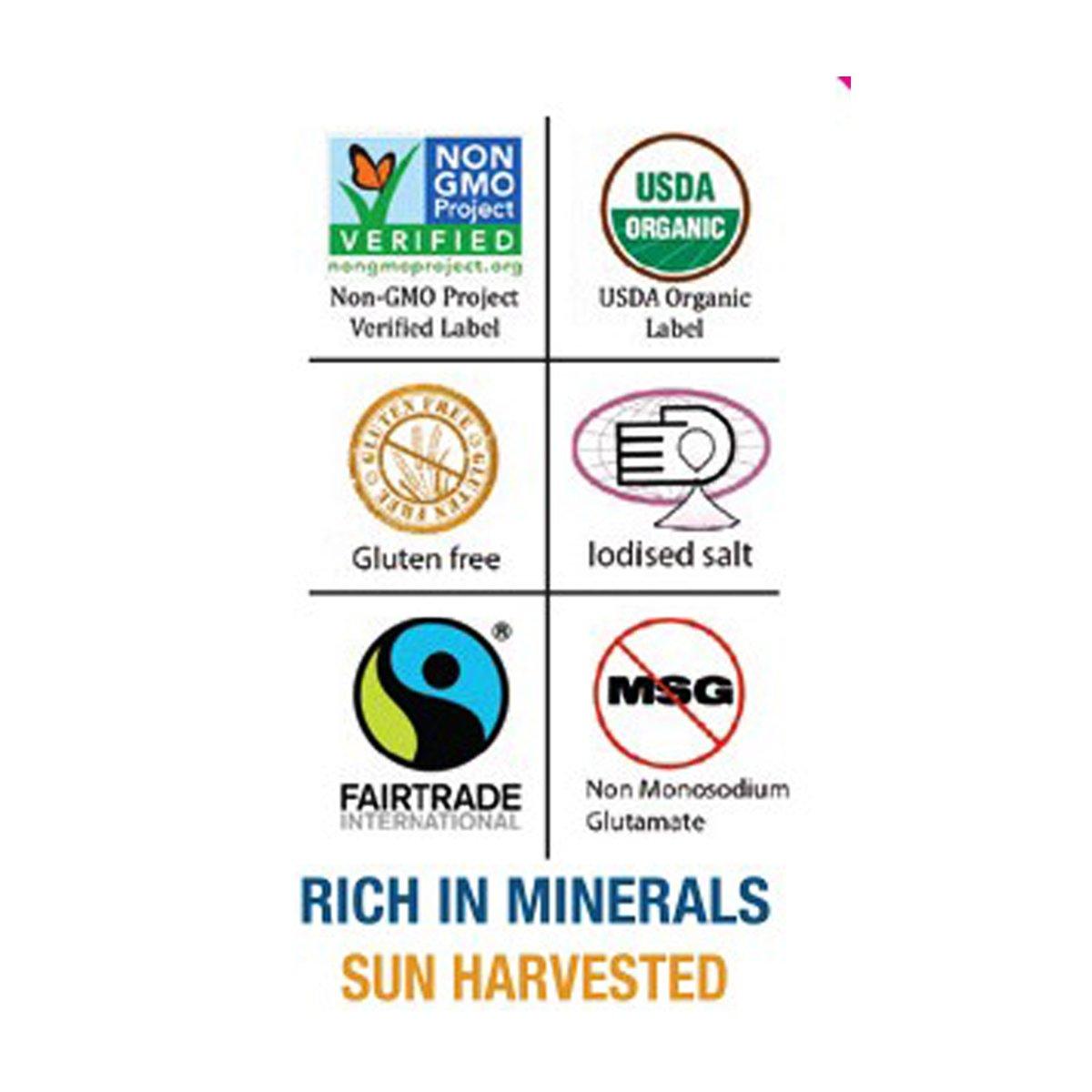 Hyksos Natural Edible Coarse Salt 3.9 oz - Multi Use Grinder by HYKSOS (Image #3)