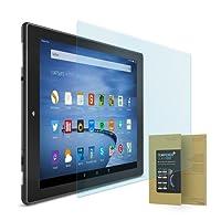 doupi Amazon Fire HD10 ( 2015 ) Panzerfolie, Premium 9H Hartglas HD Display Schutz Glasfolie