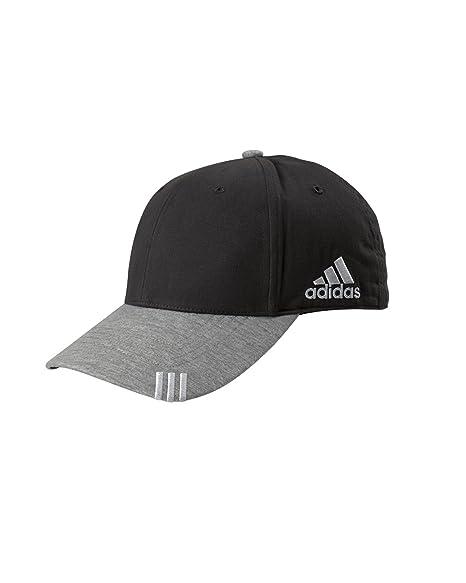 57bc1dde858 Amazon.com   AD COLLEGIATE FRONT HIT CAP (BLACK GREY HTR) (OS ...