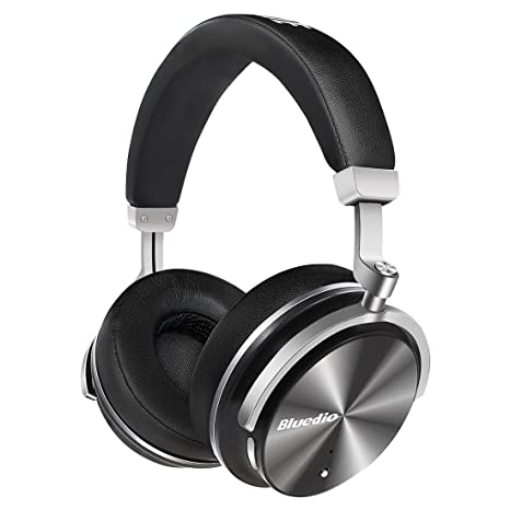 8a4ef9c5c0d Bluedio T4 (Turbine) Active Noise Cancelling Bluetooth Headphones with Mic  Over-Ear Swiveling