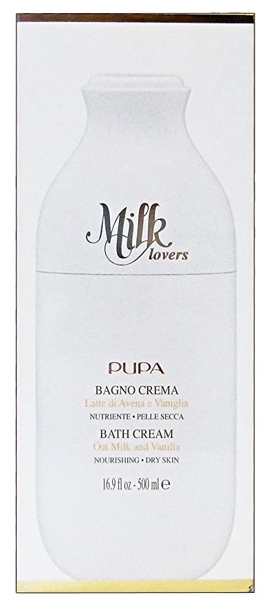 Pupa Milk Lovers Leche de ducha Leche de Avena & Vainilla 500 ml