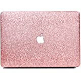"B BELK MacBook Air 11"" Case,2 In 1 Bling Crystal Smooth Ultra-Slim Light Weight PC Hard Case With Keyboard Cover For MacBook Air 11.6 Inch(Model:A1465/A1370) - Shining Rose Golden"
