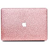 B BELK-New MacBook Pro 13'(2016 &2017 Release) Case,2 In 1 Bling Crystal Smooth Ultra-Slim Light Weight PC Hard Case With Keyboard Cover For MacBook Pro 13.3' Without Touch Bar (A1708) - Rose Golden