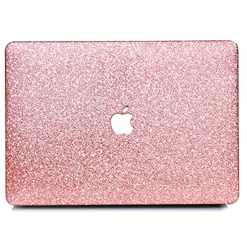 B BELK-New MacBook Pro 13(2016 &2017 Release) Case,2 In 1 Bling Crystal Smooth Ultra-Slim Light Weight PC Hard Case With Keyboard Cover For MacBook Pro 13.3 With Touch Bar (A1706) - Rose Golden