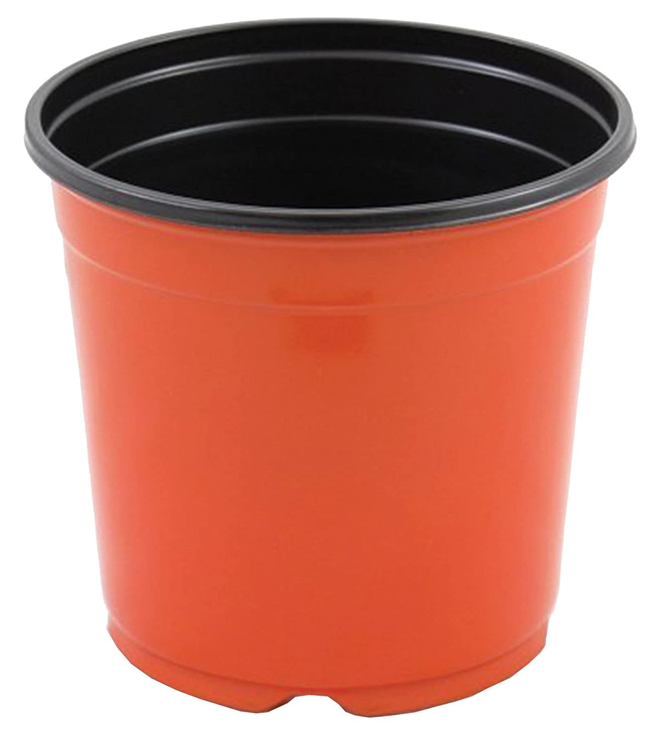 """sp800 8/"""" Green  Nursery and Greenhouse Container Qty.20 8 Inch Azalea Pot,"""