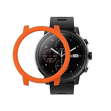 Sikai Amazfit Sports Smartwatch Stratos 2 Marco Caso Cubierta Proteger Shell Moda Protector Case Funda para Xiaomi Huami Reloj Carcasa Lightweight ...