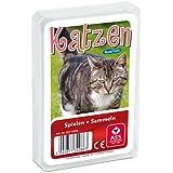 ASS Altenburger 22572086 - Quartett Katzen, Kartenspiel