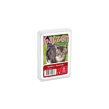 Top Ass Quartett Tierkinder Tier Kinder Spielkarten Kartenspiel von Altenburger Spielkarten