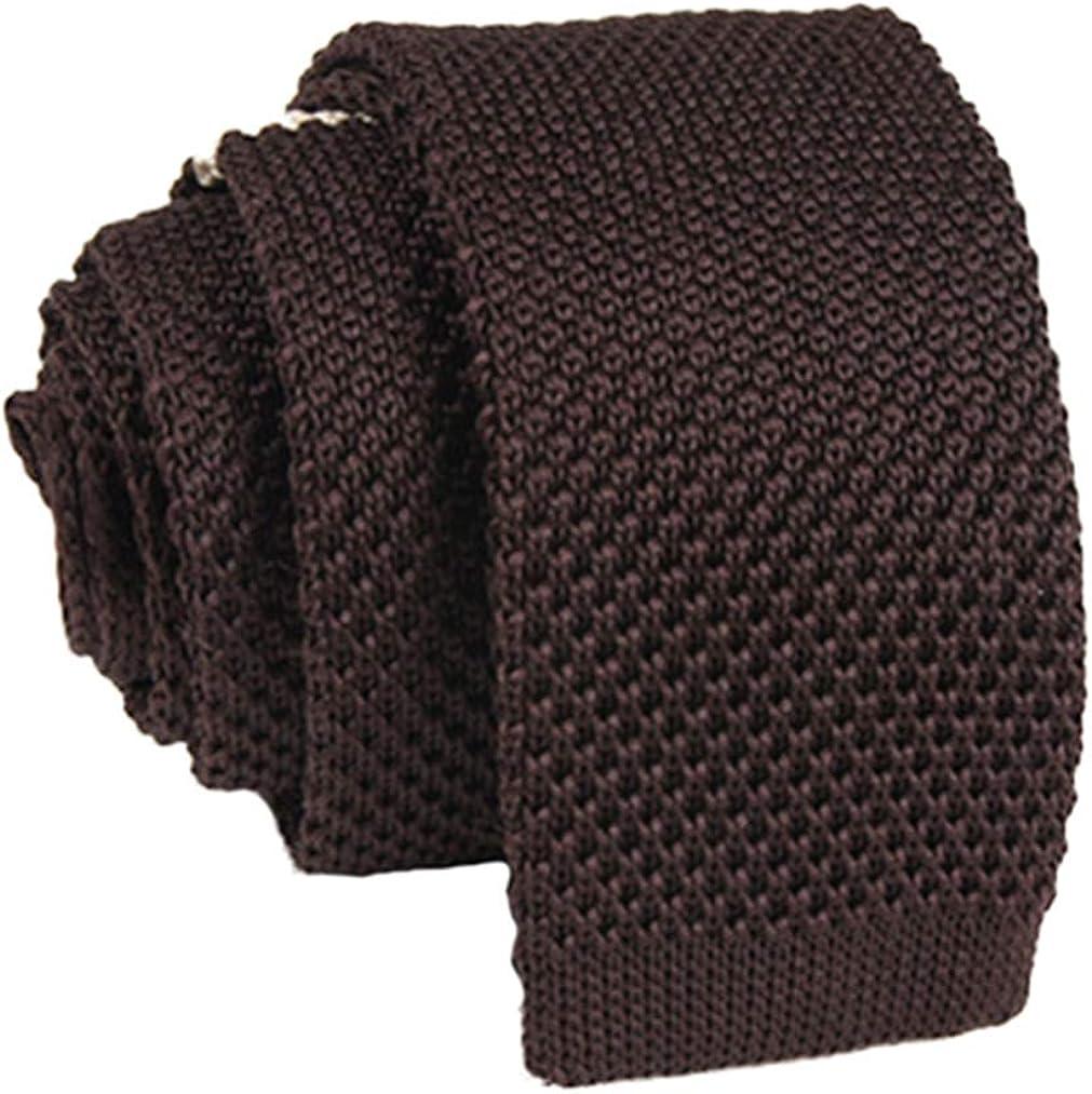 Demarkt Herren Strickkrawatte Business Krawatte aus Strick perfekte Geschenkidee f/ür Mann f/ür B/üro und Freizeit 150cm*5.5cm*4cm