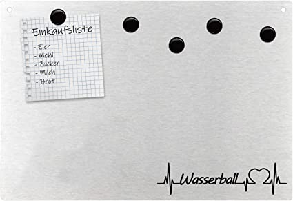 Tableau Magnetique Avec Inscription En Allemand Puls Mannschaft Team Liebe Amazon Fr Fournitures De Bureau