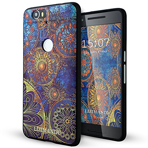 Google Nexus 6p Case,Lizimandu Soft TPU textured pattern for sale  Delivered anywhere in USA