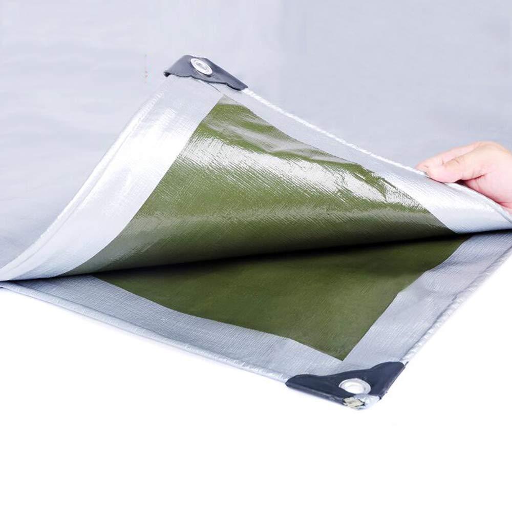 3x4m MYYDD BÂche Camping Imperméable Résistant à La Pluie Tissu épais Plante épais Hanged Cloth Serre BÂche Feuille étanche Tente,3x5m