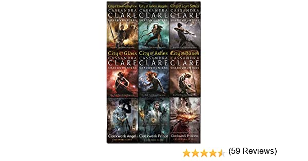 Cassandra Clare Mortal Instruments & Infernal Devices Collection 9 Books Set Pack: Amazon.es: Libros