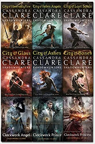 Cassandra Clare Mortal Instruments & Infernal Devices Collection 9 ...