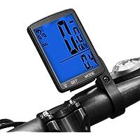 Dricar Compteur de vélo étanche sans Fil, écran LCD Backlight sans Fil Compteur kilométrique Compteur pour vélo Realtime Speed Track et Distance