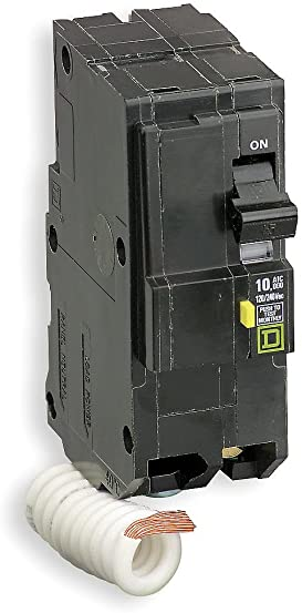 Square D – QO240GFI – Schneider Electric Square D QO240GFI QO Qwik-Gard Ground Fault Miniature Circuit Breaker 40 Amp, 120 240 Volt AC, 2-Pole, Plug-On Mount