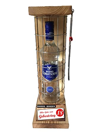 U0026quot;Alles Gute Zum 18 Geburtstagu0026quot; Die Eiserne Reserve Mit Einer  Flasche Wodka Gorbatschow